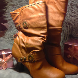 ANA Carmel Leather Boot